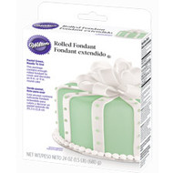 Ready-to-Use Pastel Green Rolled Fondant 24oz. Wilton