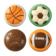Sports Balls Cookie Candy Mold Wilton