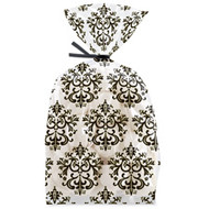 Black & White Damask Party Bags 20ct Wilton
