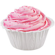 White Ruffled Cupcake Baking Cups 24ct Wilton