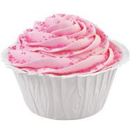 White Ruffled Cupcake Baking Cups 24ct Wilton