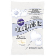 Bright White Candy Melts 12oz. Wilton