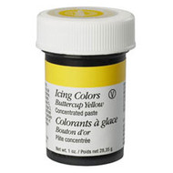 COLOR PASTE BUTTERCUP YELLOW 1 OZ. JAR