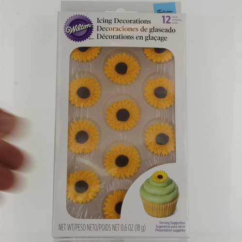 Sunflower Royal Icing Decor