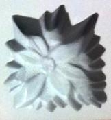 Poinsettia Rubber Candy Mold