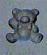 Teddy Bear Rubber Candy Mold