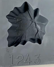 RUBBER CANDY MOLD MAPLE LEAF