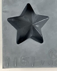 RUBBER CANDY MOLD STAR
