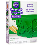 Rolled Fondant Decorator Preferred Green Vanilla