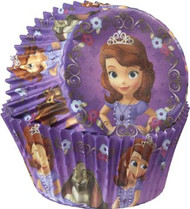BAKING CUPS SOFIA THE FIRST 50 CT