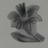 lilly rubber mold with stem and leat