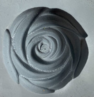 RUBBER CANDY MOLD ROSE OPEN