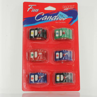 Police Car Candles