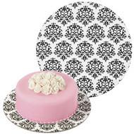 """cake Board Damask 12"""""""