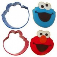 COOKIE CUTTERS SESAME STREET 2-PC
