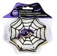 COOKIE CUTTER SET SPIDER WEB