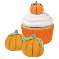 ICING DECO  PUMPKINS 12 CT