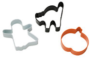COOKIE CUTTERS HALLOWEEN SET OF 3