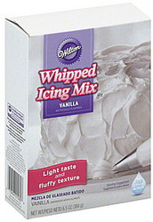 ICING MIX VANILLA WHIPPED 6.5 OZ