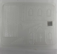 MOLD CHURCH 3-D SET