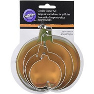 COOKIE CUTTERS PUMPKIN SET NESTED 4 CT