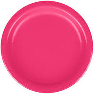 PLATES 7 in. MAGENTA HOT 24 CT