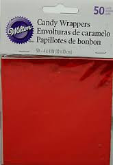 FOIL WRAPPERS RED