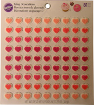 ICING DECO HEARTS MICRO MINI