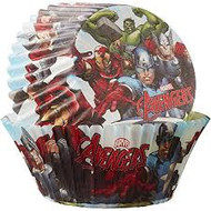 BAKING CUPS AVENGERS 50CT