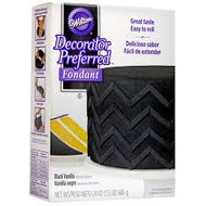 FONDANT DECORATOR PREFFERED BLACK 24 OZ