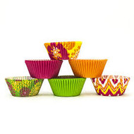 BAKING CUPS NEON FLORALS 150 CT.