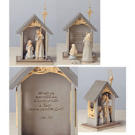 FND4032062 NATIVITY SET/3 MINI
