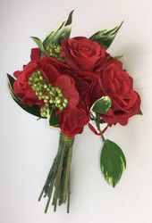 NOSEGAY ROSES/ANEMONE RED