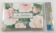 INVITATIONS  PARTRIGE PEAR BLOSSOMS
