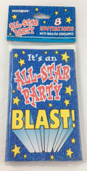 INVITATIONS ALL-STAR PARTY