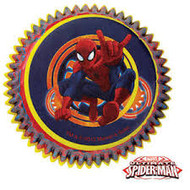 BAKING CUPS SPIDERMAN ULTIMATE