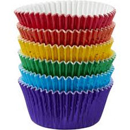 BAKING CUPS PRIMARY MULTI FOIL 75 CT
