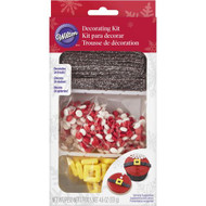 CUPCAKE DECORATING CANDY KIT SANTAS BELT 12CT