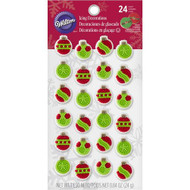 ICING DECO ORNAMENTS 24 CT