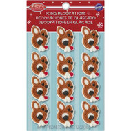 ICING DECO RUDOLPH DOT MATRIX 12 ct