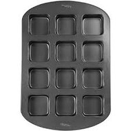 PAN BROWNIE BAR NON-STICK 12 CAVITY
