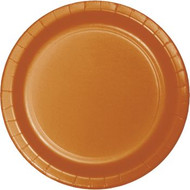PLATES 7 in. PUMPKIN SPICE 24 CT