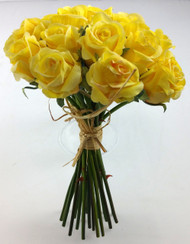 NOSEGAY ROSE  YELLOW 9.5""