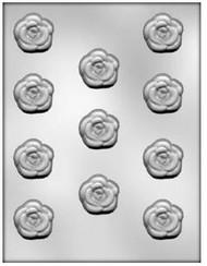 "MOLD ROSE  1 3/8""11 CAVITIES"
