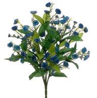 """BELL BLOSSOM BUSH 18.5"""" BLUE"""