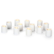 VOTIVES LED 12 WHITE