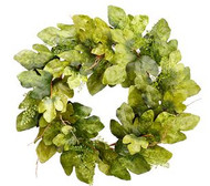 WREATH FIG LEAF/FERN GR 32""