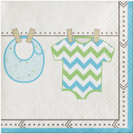 BEV NAPKINS BUNDLE OF JOY BOY 16CT