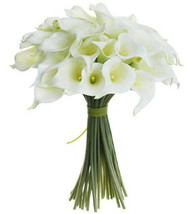 NOSEGAY CALLA LILY BOUQUET WH 12""