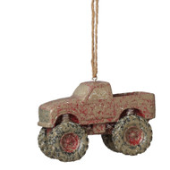 TRUCK MUDDER RESIN ORNAMENT